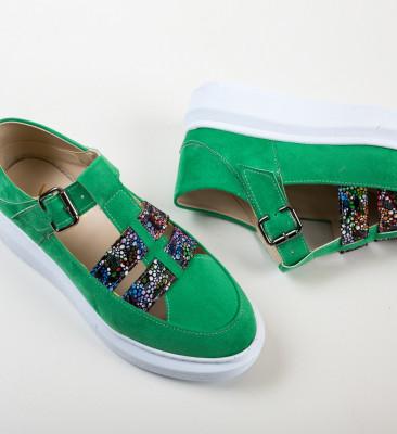Pantofi Casual Sonicx Verzi