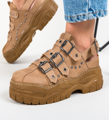 Pantofi Casual Stoneh Maro