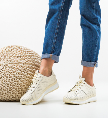 Pantofi Casual Trent Bej