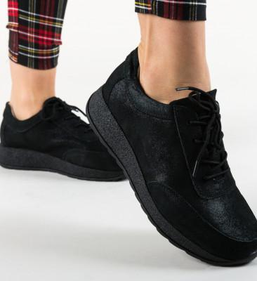 Pantofi Casual Velma Negri