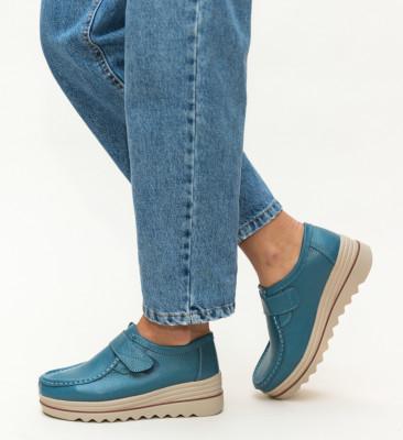 Pantofi Casual Vinay Albastri