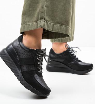 Pantofi Casual Viop Negri