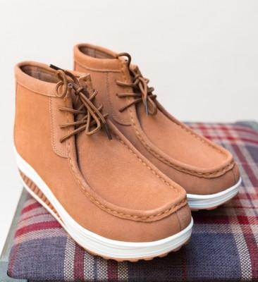Pantofi Casual Voltaj Camel