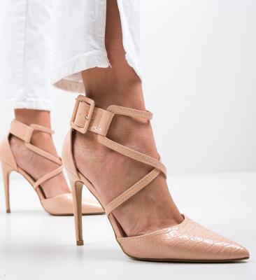 Pantofi Cillia Bej