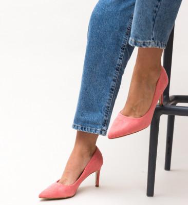 Pantofi Deaco Roz