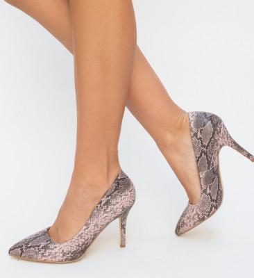 Pantofi Dora Roz