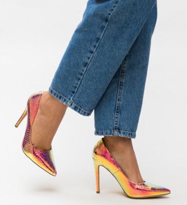 Pantofi Ellis Aurii