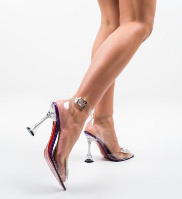 Pantofi Enva Mov