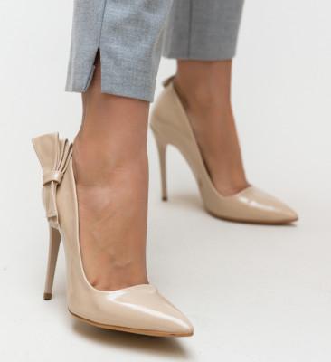 Pantofi Frigid Nude