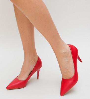 Pantofi Gomy Rosii