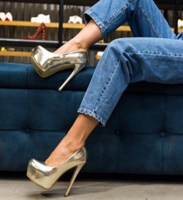 Pantofi Grant Aurii