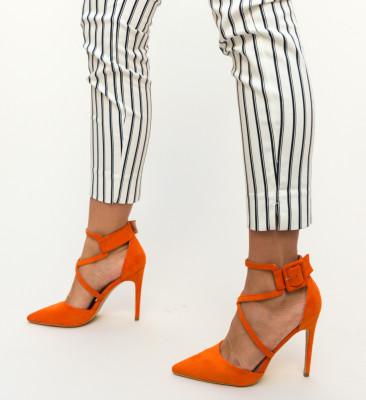 Pantofi Hebe Portocalii