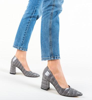 Pantofi Hilfi Gri