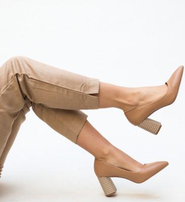 Pantofi Jaylen Bej
