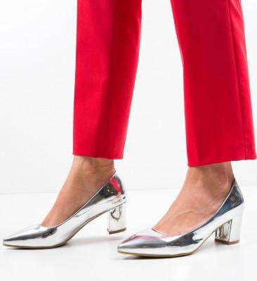 Pantofi Kelse Argintii