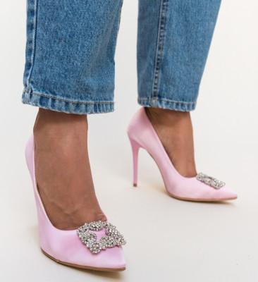 Pantofi Lilie Roz