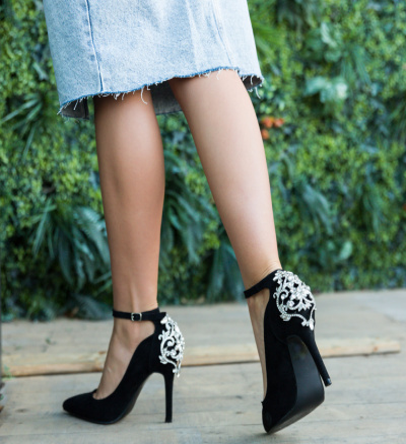 Pantofi Lumo Negri