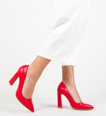Pantofi Morlon Rosii