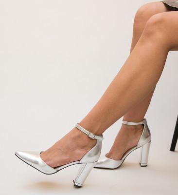 Pantofi Owain Argintii