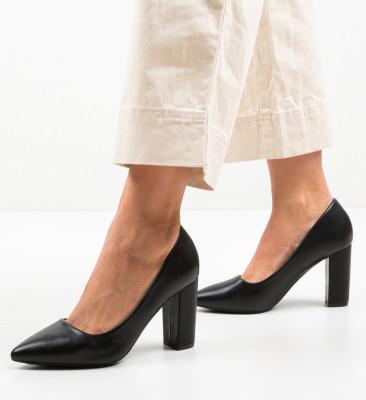Pantofi Renn Negri
