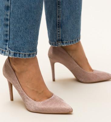 Pantofi Rotiform Aurii