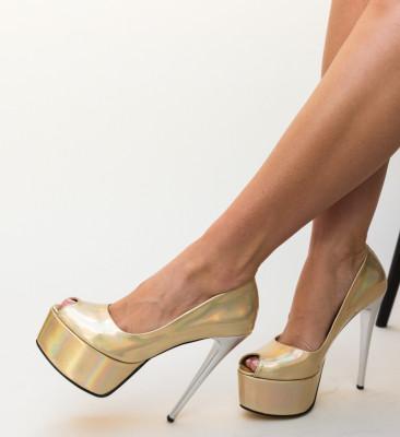 Pantofi Sanny Aurii