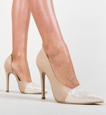 Pantofi Shanon Nude