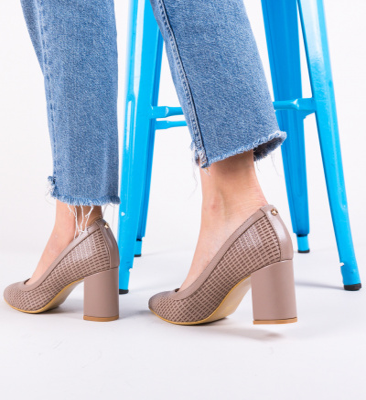 Pantofi Spic Bej 2