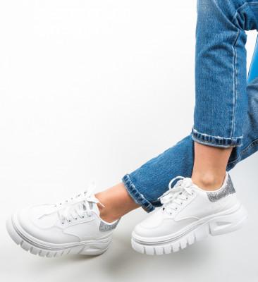 Pantofi Sport Aiys Argintii