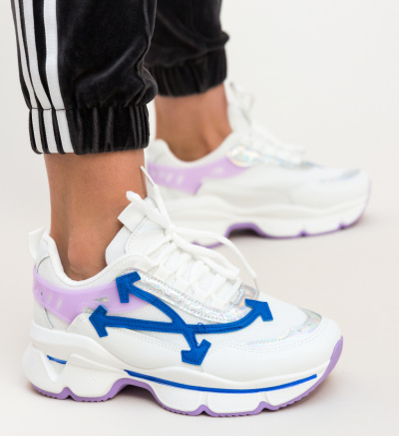 Pantofi Sport Alesha Albi