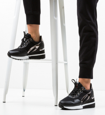Pantofi Sport Bareja Negri