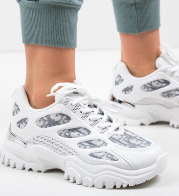 Pantofi Sport Caiu Albi