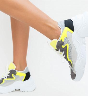 Pantofi Sport Elsev Gri
