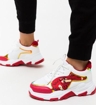 Pantofi Sport Ementin Rosii