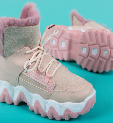 Pantofi Sport Feelo Roz