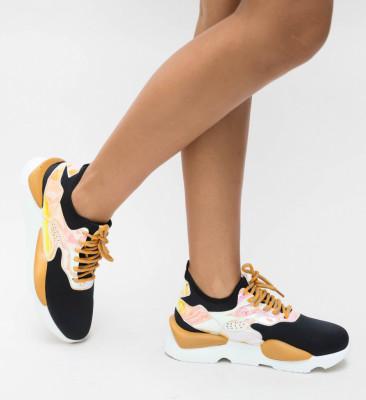 Pantofi Sport Kabio Galbeni