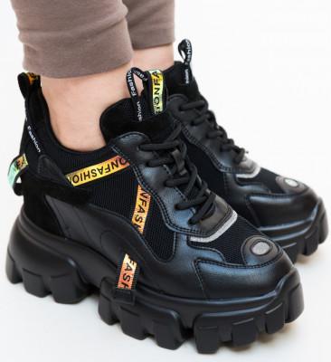 Pantofi Sport Lot Negri