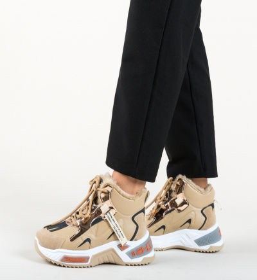 Pantofi Sport Macy Bej