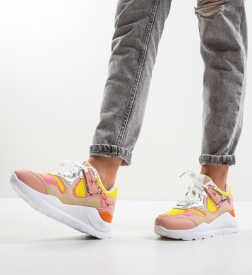 Pantofi Sport Mcma Galbeni