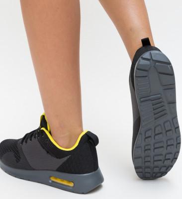 Pantofi Sport Slardar Negri 2