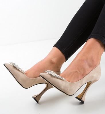Pantofi Stelizaza Bej