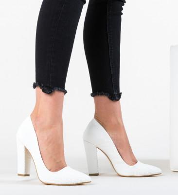 Pantofi Sunshine Albi