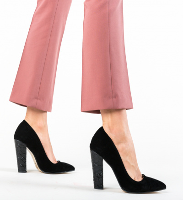 Pantofi Sunshine Negri 2