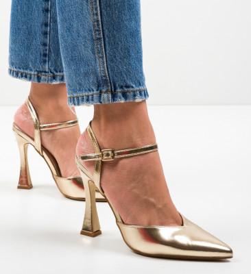 Pantofi Trop Aurii
