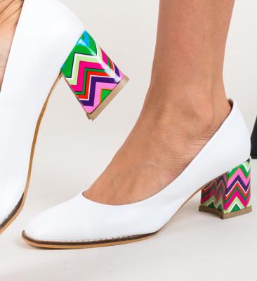 Pantofi Vardola Albi