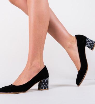Pantofi Vardola Negri