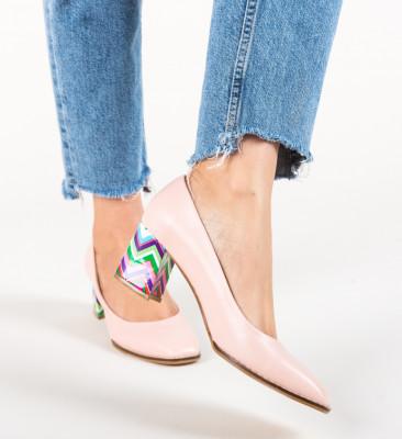 Pantofi Vardola Roz