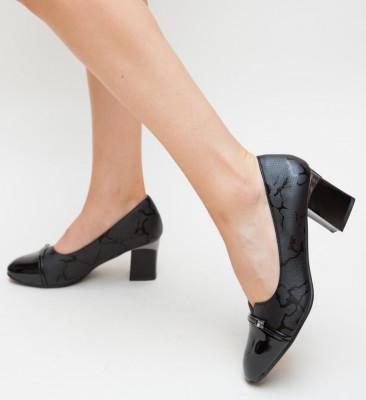Pantofi Zano Negri