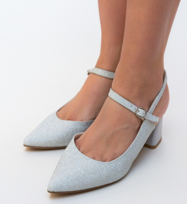Sandale Agnes Argintii