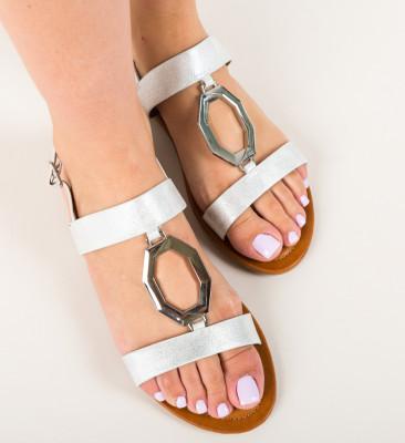 Sandale Amda Albe